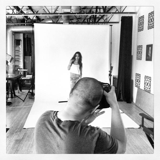 Geraldine Ridaura photographed by Rodney Alan - BTS