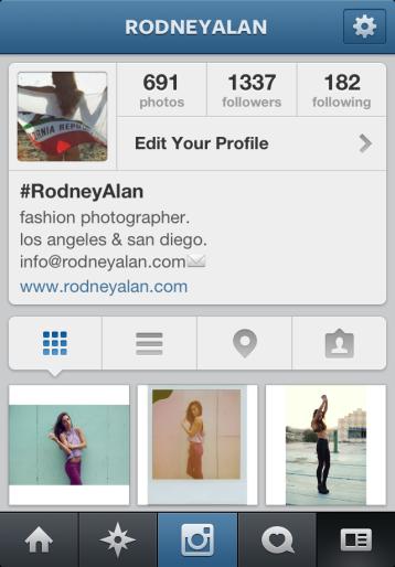 Rodney Alan Instagram