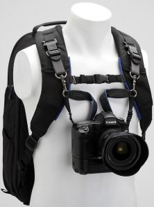 Blue Camera Strap and Support Kit