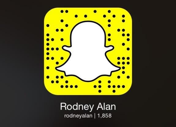 Snapchat Rodney Alan